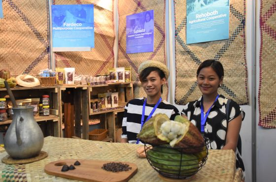 PEF partners showcase chocolate products at KakaoKonek 2019