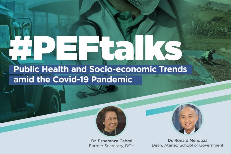 Health, economic experts open first #PEFtalks